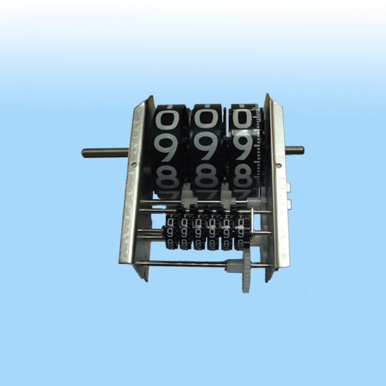 YYQ-30 resettable diesel mechanical flow meter counter