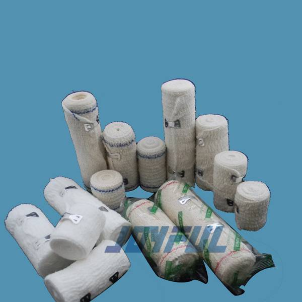High Elasticity, Good Permeability, Breathability and Stretchable Spandex Elastic Crepe Bandage with