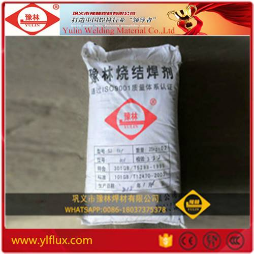 Samples Free Yulin Brand High Quality Agglomerated Welding Flux