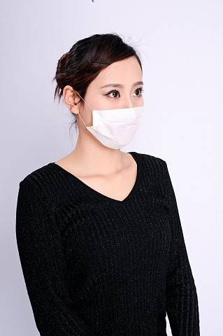 The Non Woven Face Mask Used In SPA Field