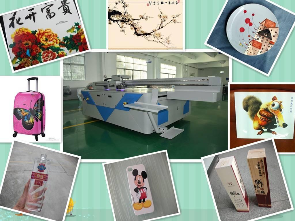 Large uv printer flatbed printing machine konica head