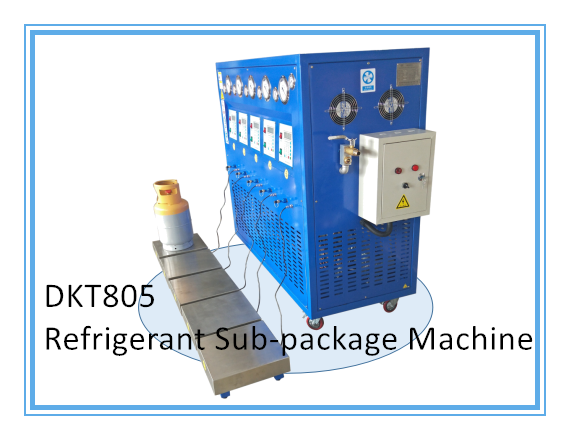Dkt80-5 5HP Oil-Less Vacuum Refrigerant Sub-Package Recharge System