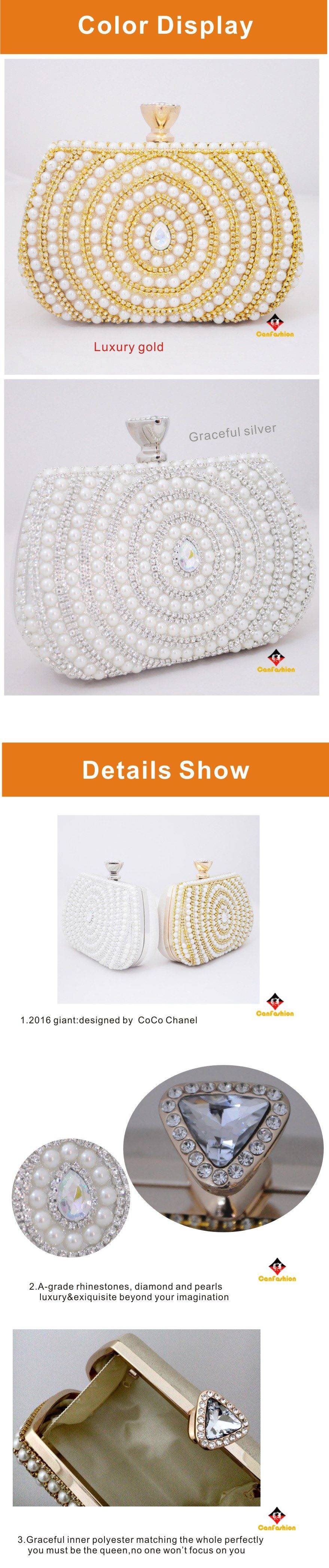 factory wholesale hard case pu evening clutch bag from china