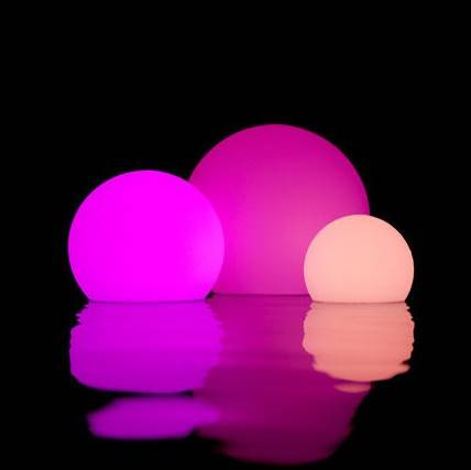 LED plastic ball
