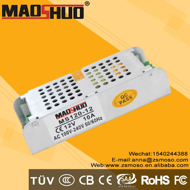 DC12V 10A 120W led lighting power supply