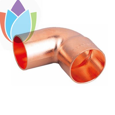 Air Conditioner copper fittings 90 degree copper Elbow MF