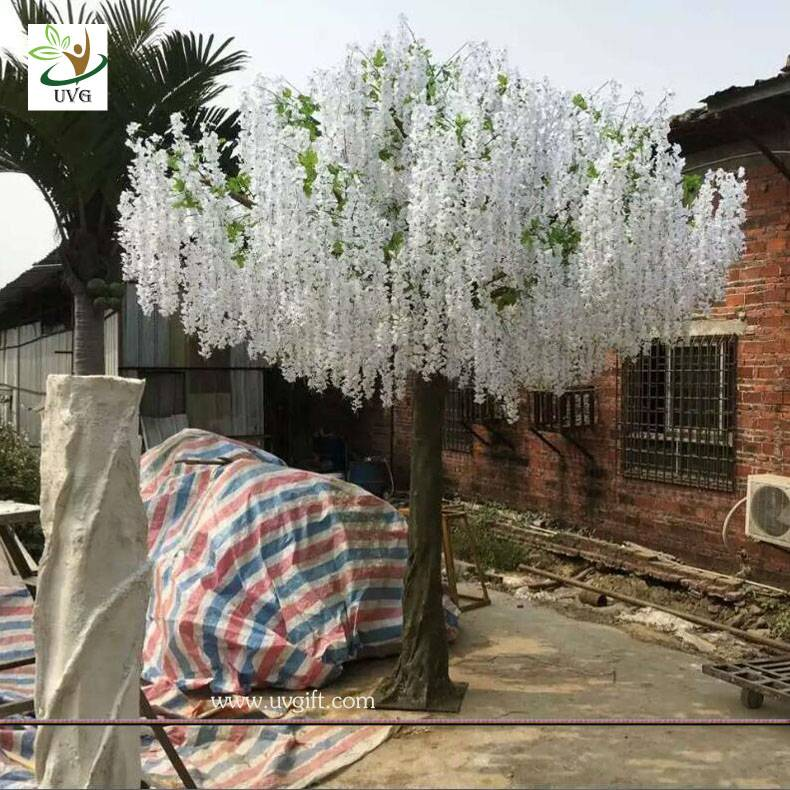 UVG WIS008 large outdoor artificial trees in wisteria flower wedding and party planner decoration
