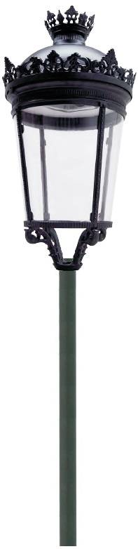 60W Fernandina LED street/garden/courtyard light