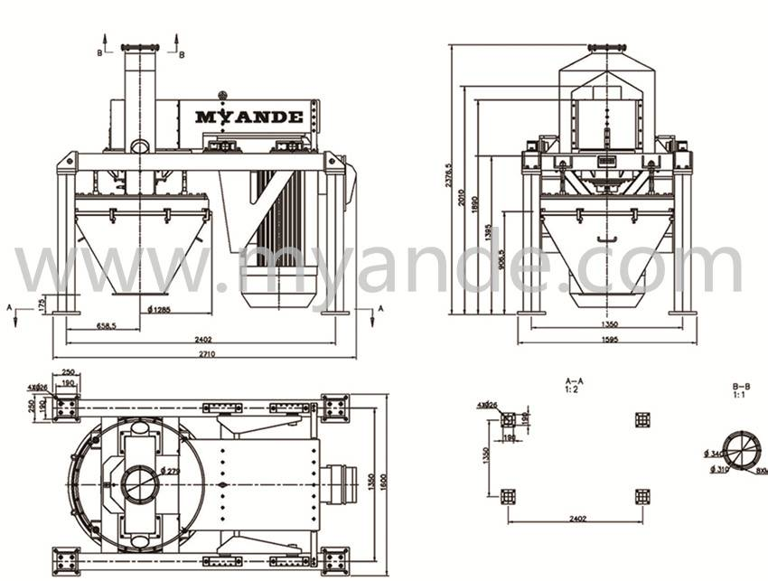 Mzm100 Milling Machine for Corn Starch Prcessing