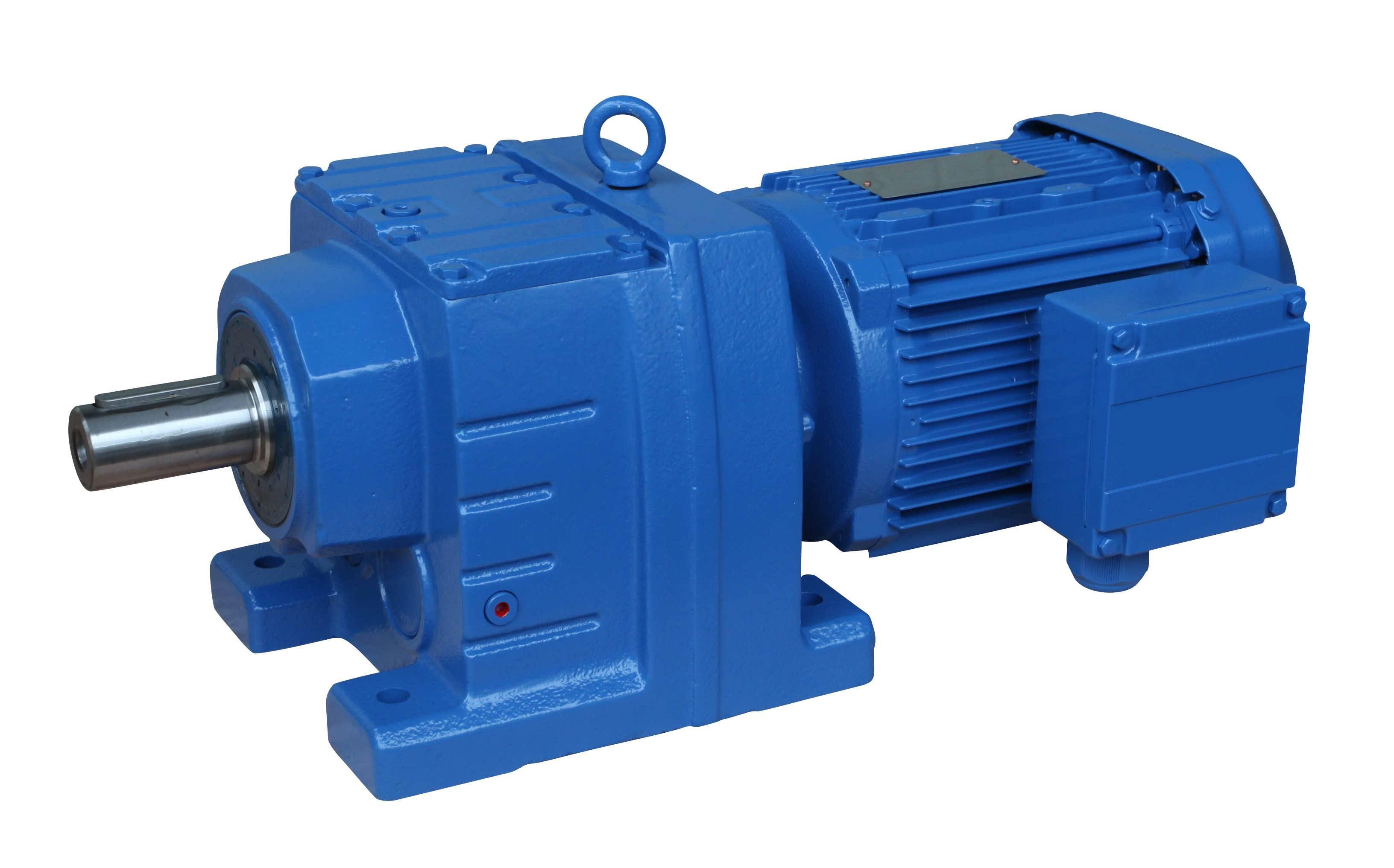 R17-R187 industrial in line coaxial helical gear unit motor
