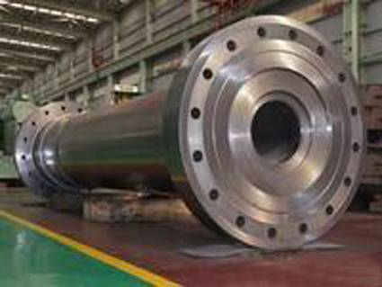 Generator shaft /rotor forging used to wind power ,hydropower, thermal power