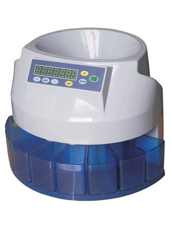 coin sorter and counter