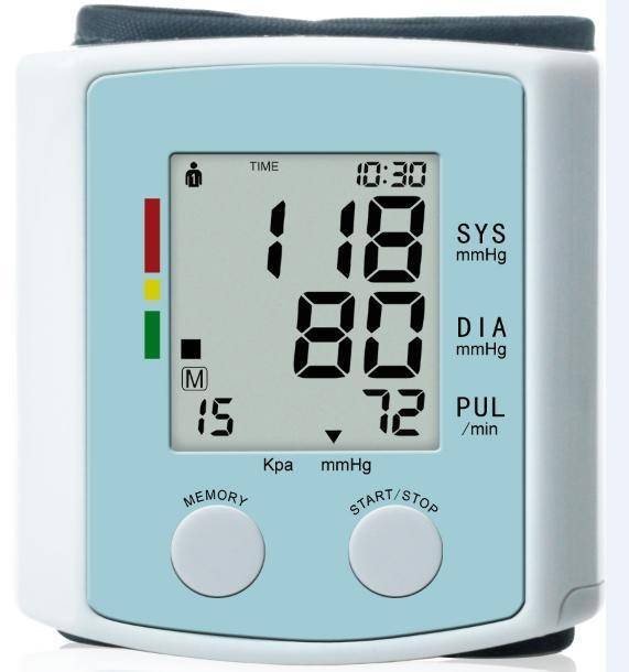 B.P.Monitor U60AH wrist blood pressure monitor