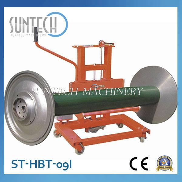 ST-HBT-09I Good Quality Hydraulic Empty Warp Beam Trolley For Sale
