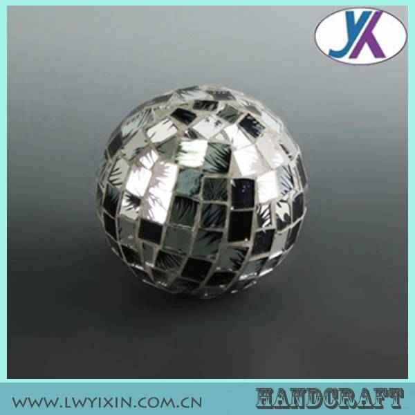 Promotion decorative glass mosaic styrofoam balls
