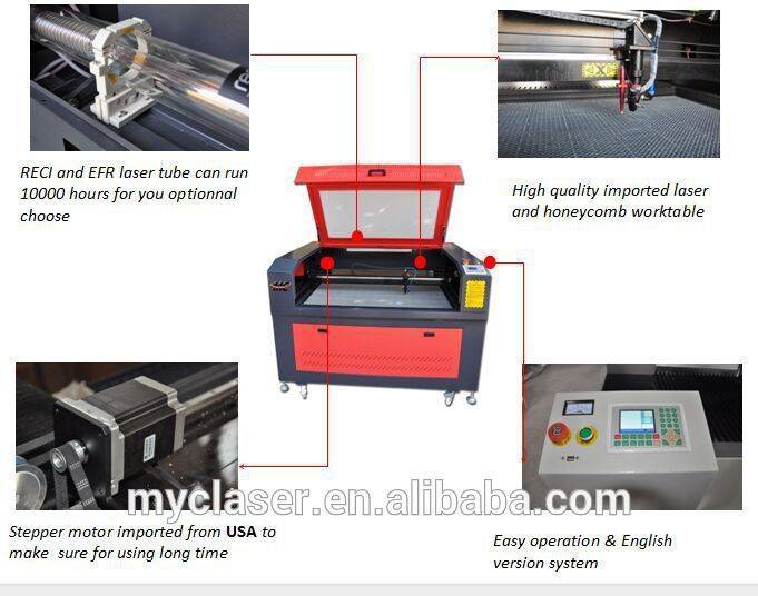 MC 9060Hot sales with top quality for invitation card co2 laser cutting machine