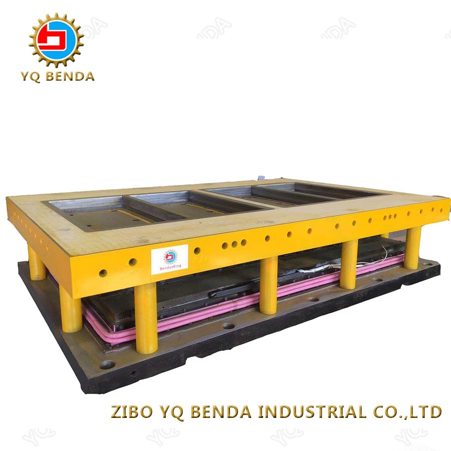 Safe and reliable ceramic tile mould