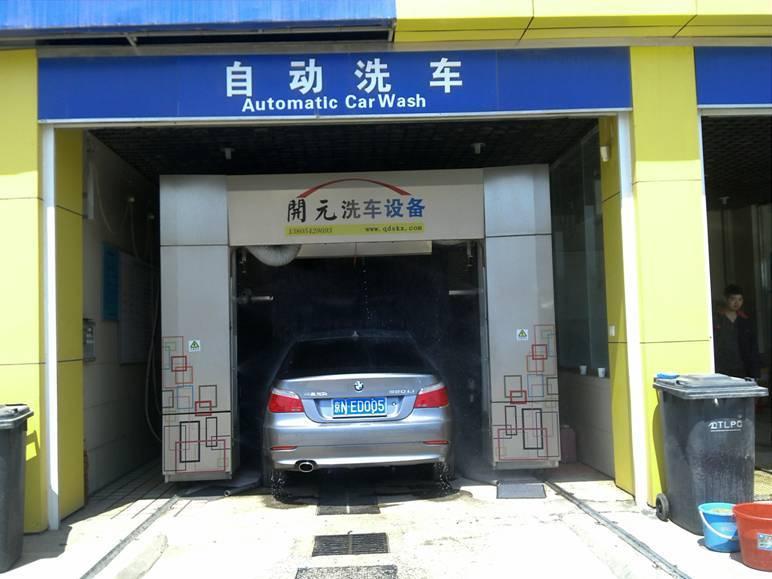 GY-501 Roll-over car washing machine