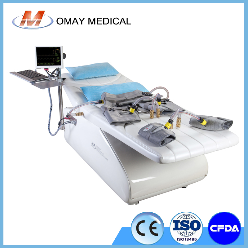 EECP machine for heart disease with all-in-one design and auto control system