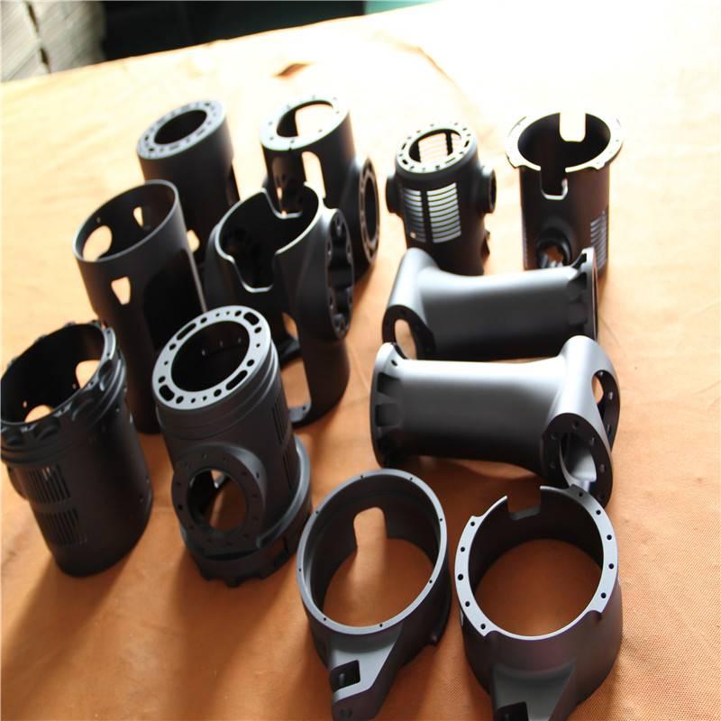 cnc machined aluminum bushing sleeve with anodizing