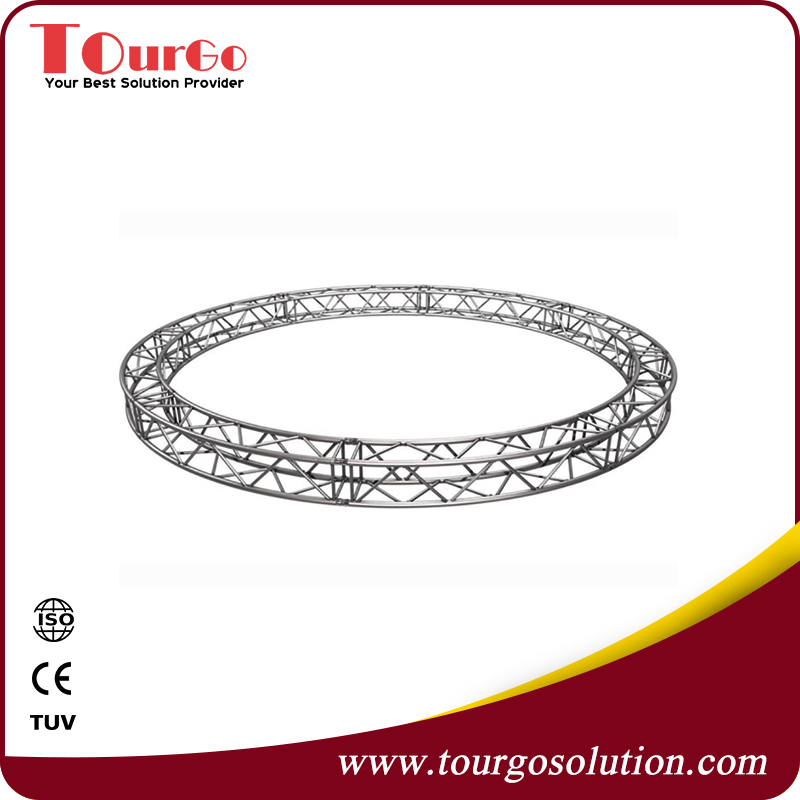Customized Circular Roof Truss with Box Truss Diameter 9.0m