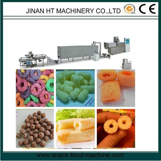 puffed snacks machine/snacks exruder