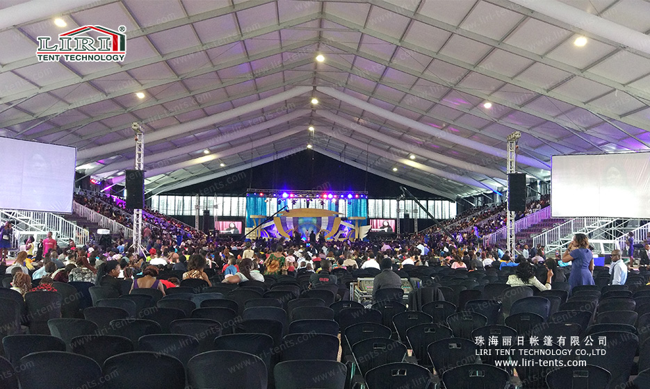 10000 People Big Tent for Concert or Church Service