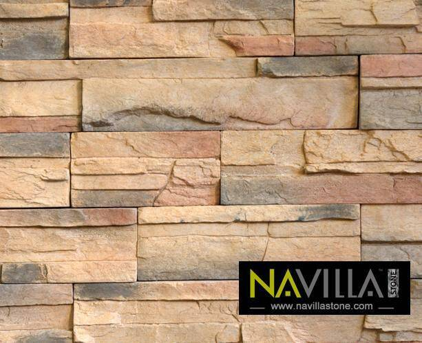 Manufactured Stone for wall cladding