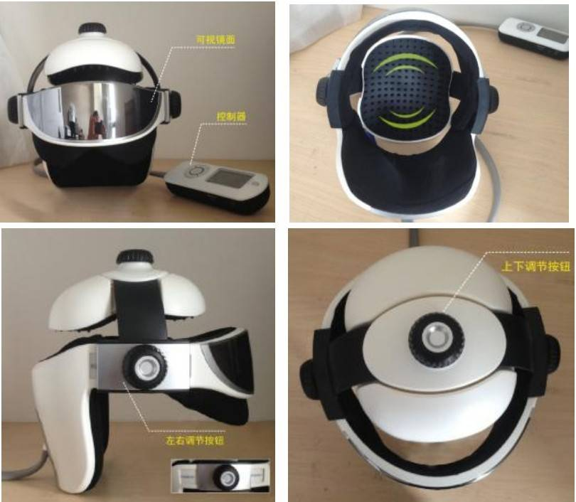 Betterkong BK303 2014new product heating air pressure head and eye massager with music function
