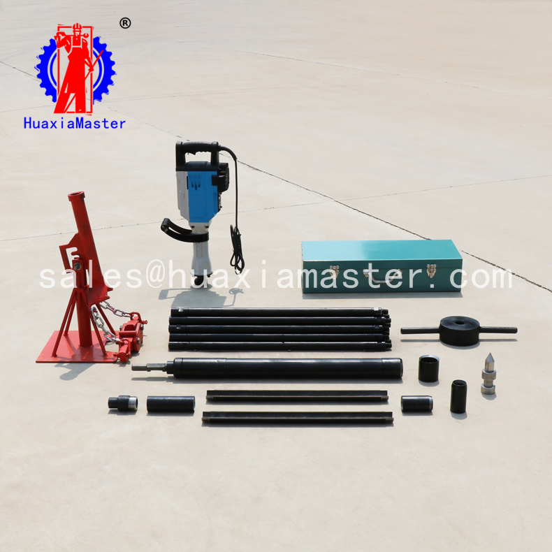 Strong recommend 15-20meters fast speedQTZ-3D electric soil sampling drilling rig for sale