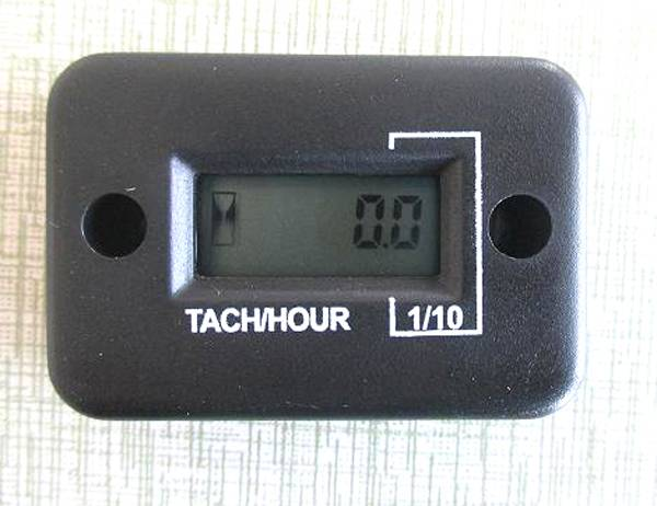RL-HM012 Waterproof Digital Tachometer Hour Meter For All Gasoline Engine,Marine,Motorcycle,Snowmobi