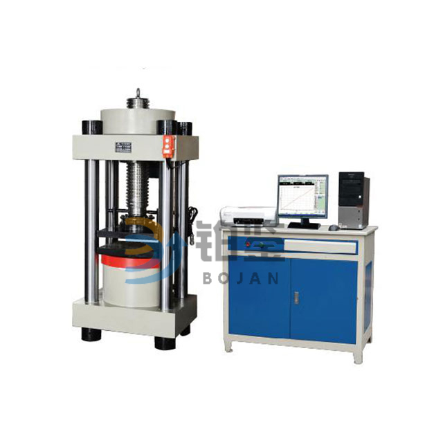 Concrete compression testing equipment