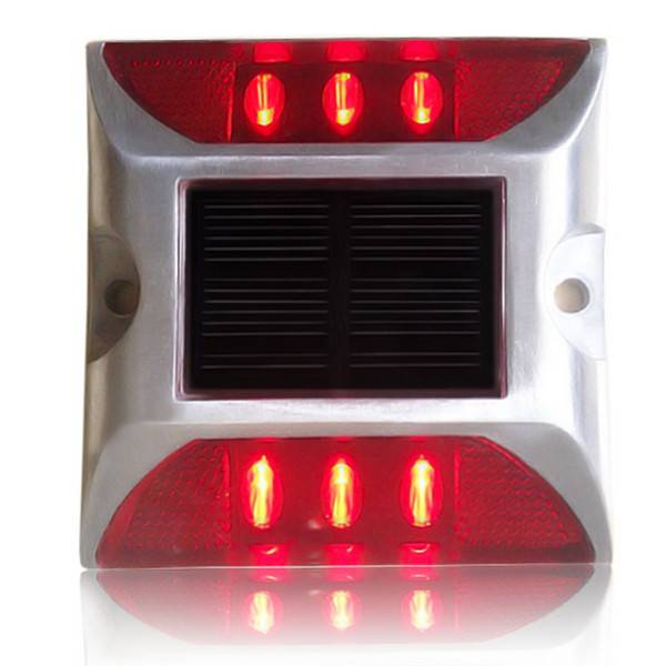 solar traffic safety road stud light
