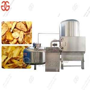 Automatic Snack Chips Fruit Vacuum Fryer VKV-C Frying Equipment