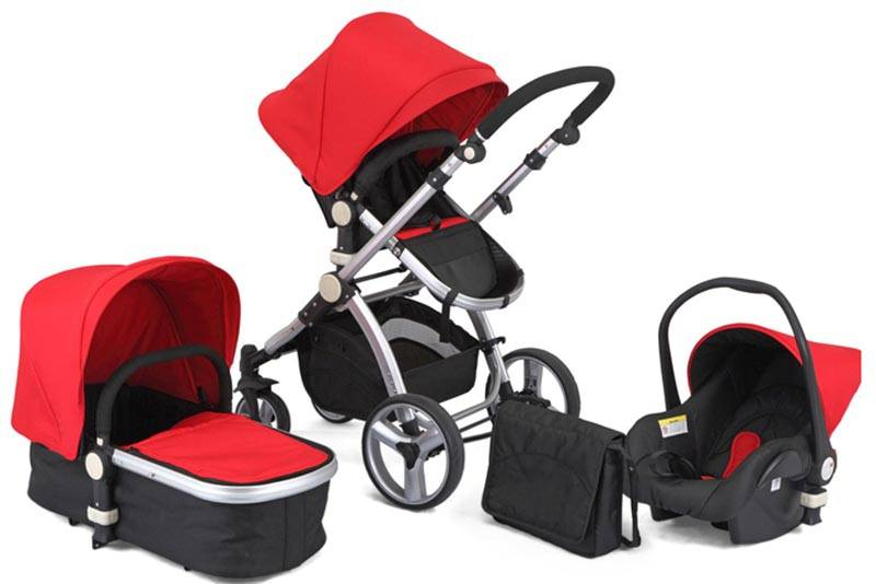 baby stroller with car seat carry cot