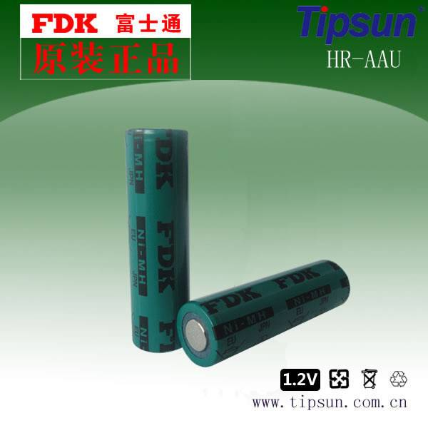 Authorized FDK HR-AAU 1.2V 1650mAh Size AA 14500 Ni-MH Rechargeable Batteries Made in Japan