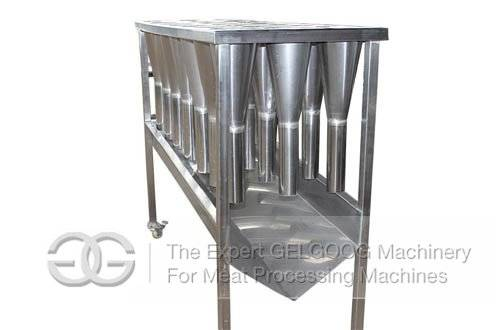 Poultry Bloodletting Table