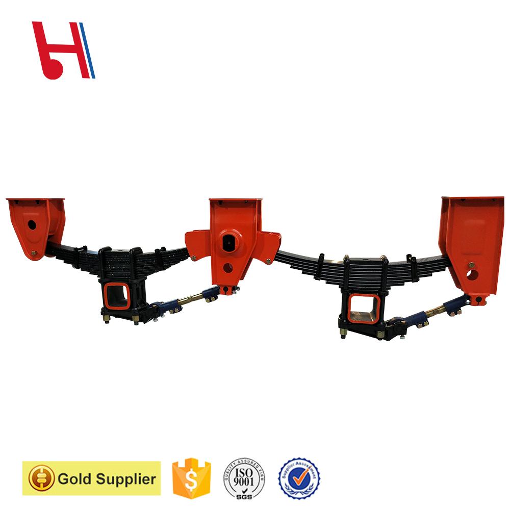 Trailer and Semi-trailer mechanical suspension