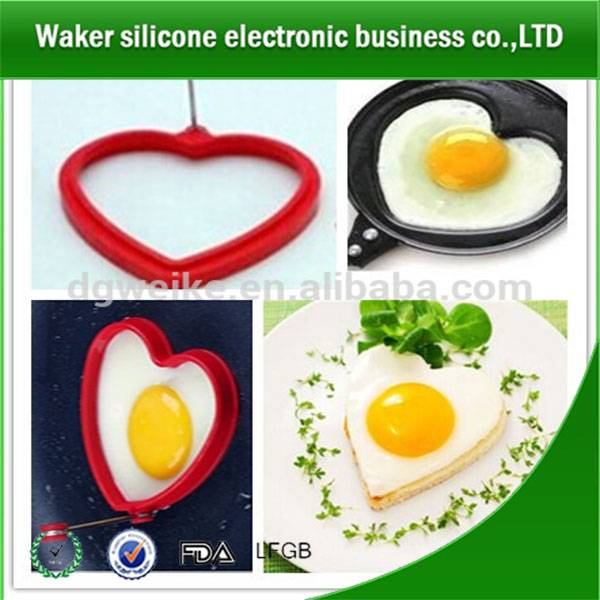 Multi colors food grade healthysilicone egg frying molds