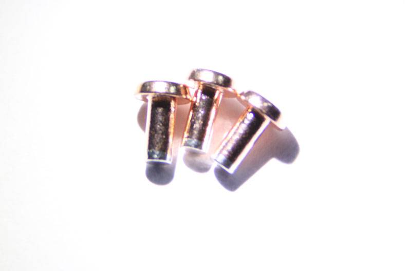 DSSR silver colly contact and silver rivet and silver copper/silver nickel
