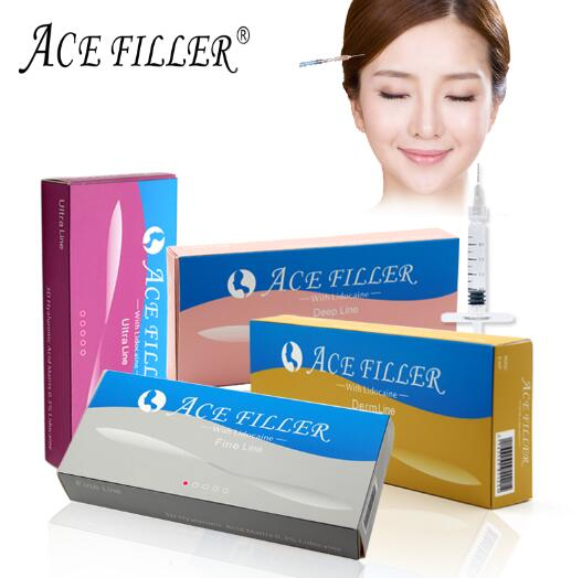 2017 Cosmetic derm line ACE FILLER injectable hyaluronic acid