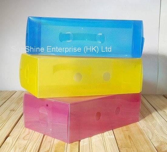 plastic PP storage shoe box