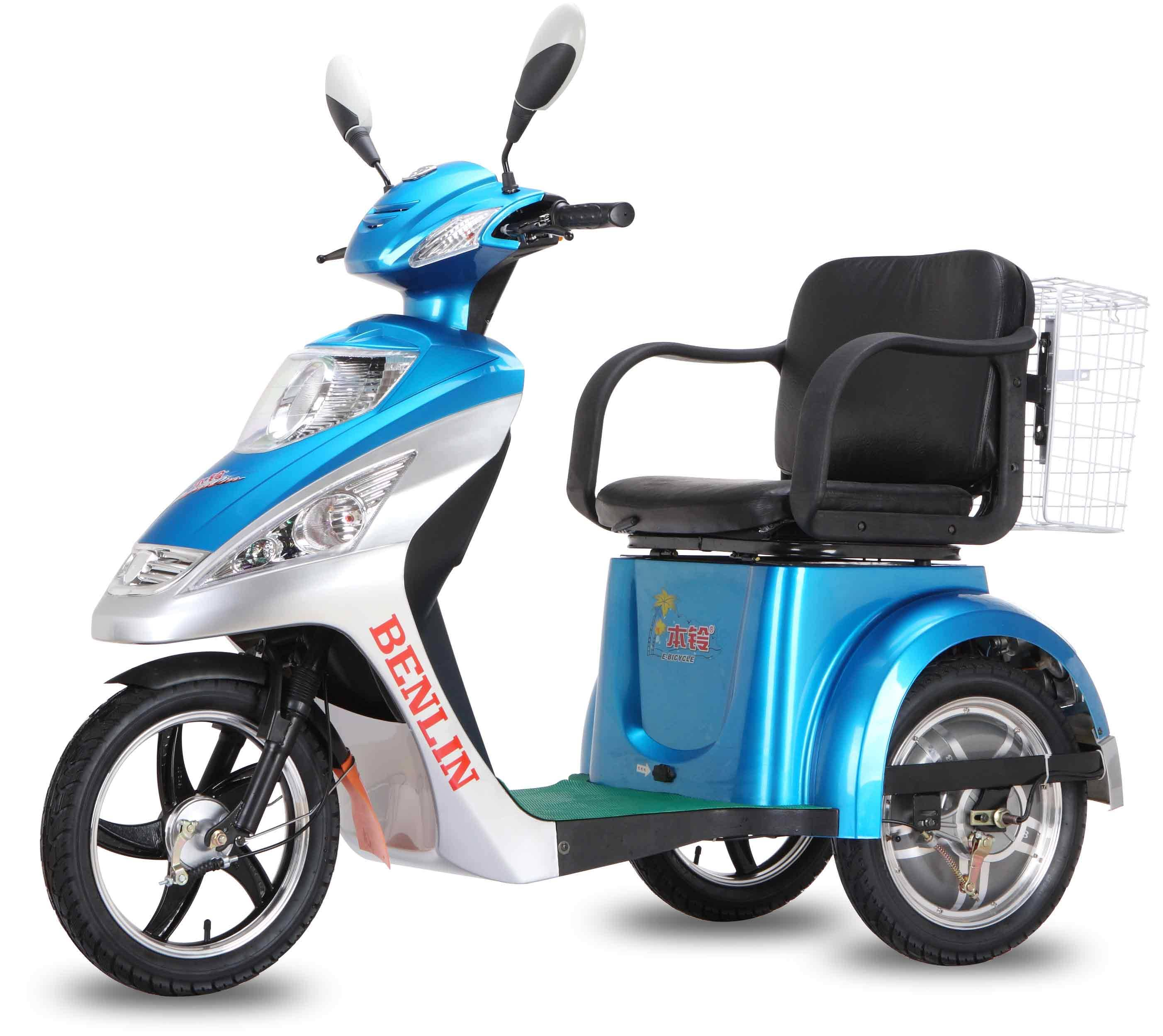 ECO electric tricycle three-wheeler scooter Thailand and Canada style