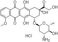 Epirubicin hydrochloride