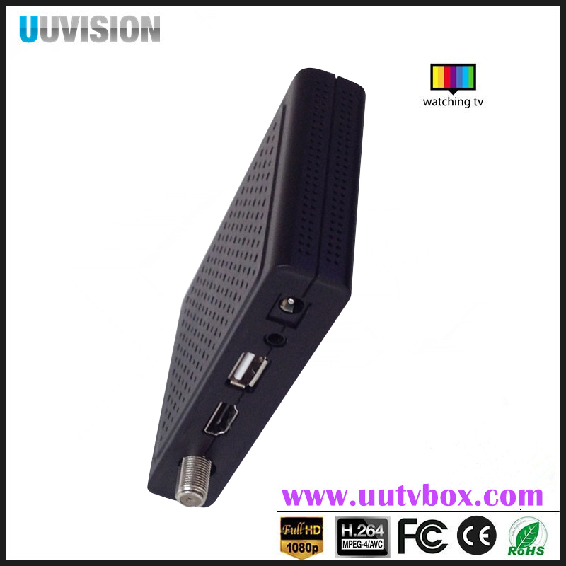 Satellite receiver Uuvision OEM Customized DVB-S2+ott wifi/3G,BISS POWERVU dvb s2 receiver set-top b