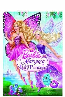 Barbie Mariposa and the Fairy Princess dvd movies