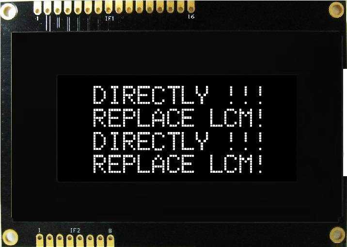 Compatible OLED MODULE PHC1604AW/Y