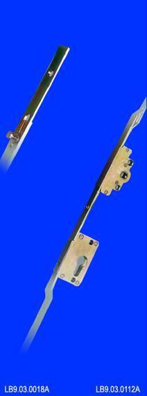 Combined simple door lock