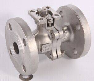 2-PC BALL VALVE FLANGE END FULL PORT ISO 5211 DIRECT    MOUNTING PAD (long neck)DIN PN1