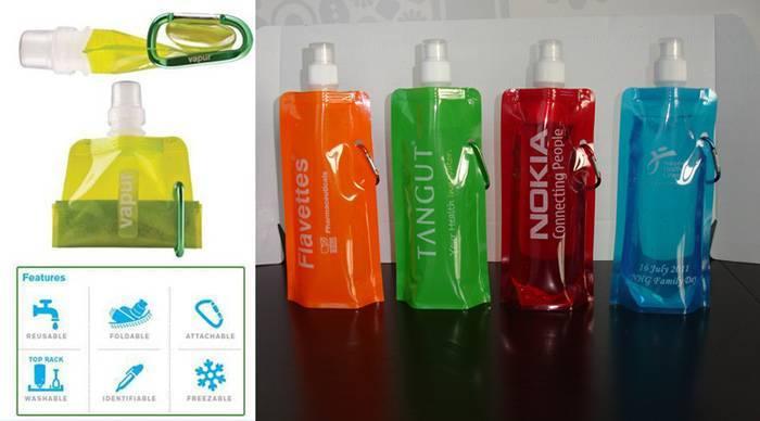 Foldable water bag